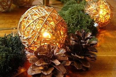 Śliczne ozdoby świąteczne za grosik
