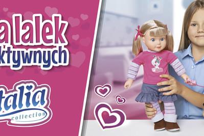 5 najpopularniejszych lalek interaktywnych z serii Natalia Collection
