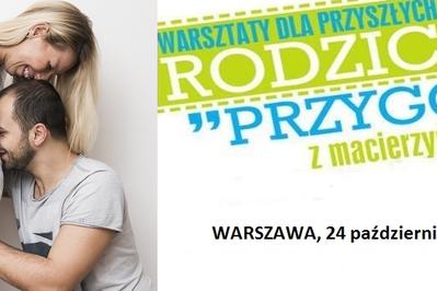 """Bezpłatne warsztaty dla kobiet w ciąży """"Przygoda z macierzyństwem"""": 24 października wracamy do Warszawy!"""